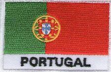 écusson ECUSSON BRODE PATCHE PATCH THERMOCOLLANT DRAPEAU PORTUGAL DIM. 7 X 5 CMS