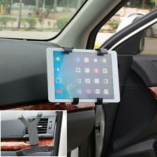 Universal Car Truck Dash Air Vent Clip-On Mount Holder For iPad Air 2 3 4 Tablet