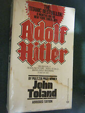 Adolf Hitler by John Toland (Paperback, Illustrated, 1984)