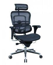 NEW Raynor Ergohuman ME7ERG Office Chair Black Mesh, High Back With Headrest