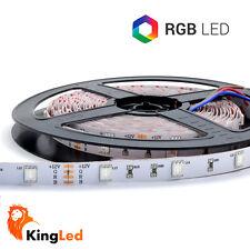 KingLed® Strisce LED 12V 150SMD5050 Strip RGB 150 LED Multicolor PRO IP20 1408