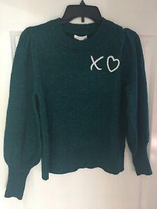 Lauren Conrad XO Petite XS Sweater Brazilian Teal sold out