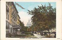 Washington, DC - Congress Hall Hotel - Capitol, old cars