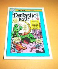 Fantastic Four #1  # 124 1990 Marvel Universe Series 1 Base Impel Trading Card