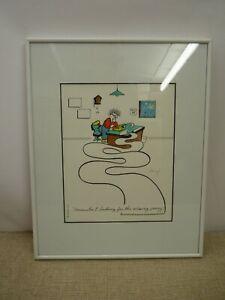 Original Cartoon Art - Accountant - Mike Champe 1992 | Thames Hospice