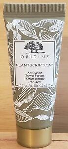 Origins Plantscription Anti-Aging Power Serum .5 Fl Oz/ 15ml Travel Size