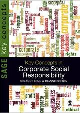 Key Concepts in Corporate Social Responsibility SAGE Key Concepts series