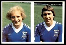 Daily Star (1980-81) Football - 108) Arnold Muhren & 100) Alan Brazil (Ipswich)
