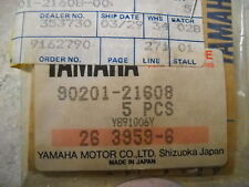 NOS OEM Yamaha Oil Filter Plate Washer 1976-1995 XS360 FZR400 FZ600 90201-21608