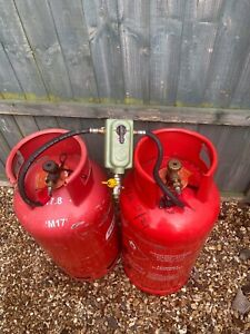 19kg propane calor gas bottle 1 Full -1 Empty