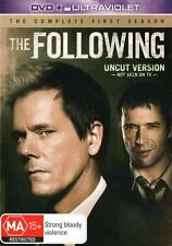 THE FOLLOWING (COMPLETE SEASON 1 - DVD & ULTRAVIOLET SET SEALED + FREE POST)