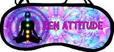 Masque de sommeil zen bouddha cache yeux anti lumière fatigue réf 75