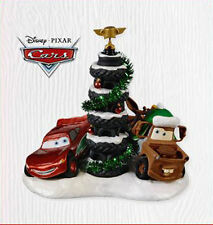 2010 HALLMARK Ornament ~ Disney ~ Piston Cup Tire Tree
