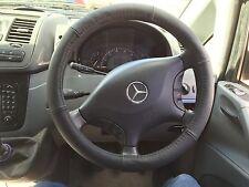 ... para Mercedes Vito/Sprinter 2003-2015 Cubierta del Volante Cuero Real..
