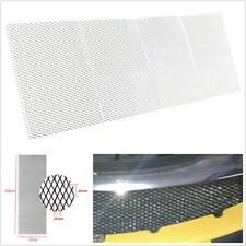 "100×33cm 40""x13"" Silver Aluminium Racing Car Vehicle Racing Grille Mesh Vent Net"