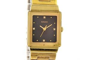 Vintage Rado Classic Gold Plated Quartz Ladies Watch 1358