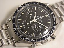"1985 Omega Speedmaster Professional ""Moon"" Watch - ST145022 w/original paper"