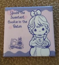 "Precious Moments 15th Anniversary Pin ""You'Re The Sweetest Cookie In The Batch"""