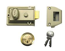 Yale Locks P-77 Traditional Nightlatch ENB/PB Cylinder 60 mm  2 Keys