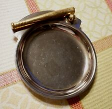 Vintage silverplate Baseball/Softball coin tray. Excellent condition and clean.