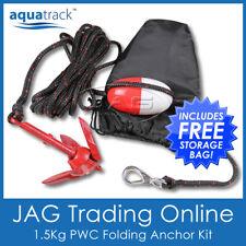 1.5Kg Pwc Folding Anchor Kit- Grapnel/Rope/Float/Hook - Kayak/Boat/Jet Ski/Canoe