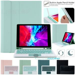 Removable Keyboard With Touchpad Case Cover For iPad 6th 7th Gen Air Pro 10.5 11
