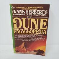 The Dune Encyclopedia Frank Herbert (1st Trade Paperback, Illustrated, 1984)