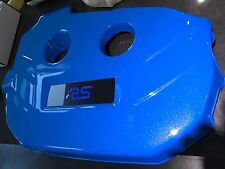 Ford Focus RS Engine Cover Badge Only Carbon and Blue