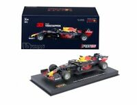 BBURAGO RB13 RB14 or RB15 RED BULL Racing F1 car Max Verstappen 2017 18 19 or 20