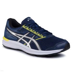 ASICS Gel-Ikaia 8 Homme Chaussures de Running Course Basket Sport Bleu/Argent