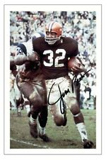 Jim Brown Cleveland Browns photo dédicacée Autographe Print NFL Football