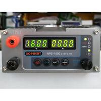 Regelbar Digital Labornetzgerät Gophert DC Netzteil 0-10A LCD Power Supply 220V