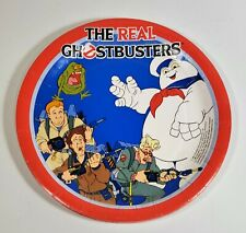 Vintage The Real Ghostbusters Lot Of 6 Party Plates Slimer C.A. Reed 1986 Rare