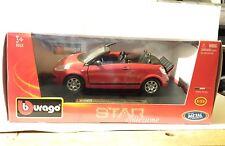 BBurago Citroen C3 Pluriel Convertible 2010 1:24 Scale Die Cast Replica Burago
