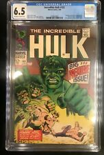 Incredible Hulk 102 - Marvel CGC 6.5 (#3790623005) Hulk Origin - Beautiful!