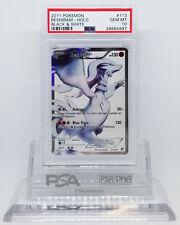 Pokemon BLACK AND WHITE FULL ART RESHIRAM #113 SECRET PSA 10 GEM MINT #28664997