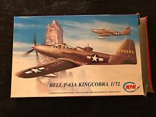 MPM 1/72 BELL P-63A KINGCOBRA --W/METAL DETAILS, VF CANOPY, US/RUSSIAN DECALS !!