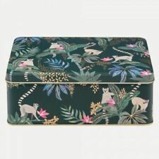 Sara Miller Collection - Lemur - Deep Rectangular Tin