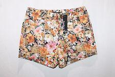 Sambara Designer Floral Denim Shorts Size 8-XS BNWT #SQ73