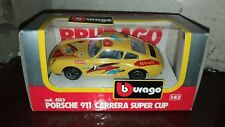 Modellino Porsche 911 Carrera Super Cup, Burago 1:43 made in Italy