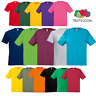 Fruit Of The Loom ORIGINAL T-SHIRT TEE COTTON PLAIN BASIC MEN 21 COLOURS SIZES