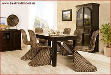 Mediterrane Möbel aus Rattan fürs Esszimmer