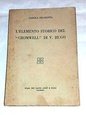 """L'elemento storico de """"Cromwell"""" V. Hugo De F. Ventilador - S. Se fue & Figli"""