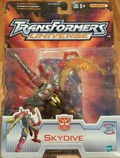 New! Sealed! Transformers Universe Skydive NIB Hasbro 2003