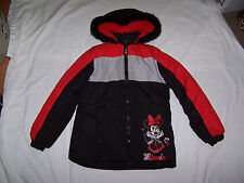 MINNIE MOUSE Girls Winter Jacket size 6 (check measurements)