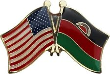 Wholesale Pack of 24 USA American Malawi Flag Hat Cap lapel Pin