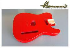 Telecaster alder body, Tele alder body, Finish High Gloss Fiesta Red