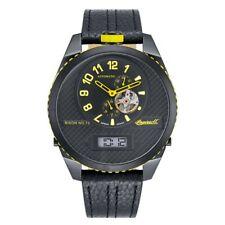 Ingersoll Herren Uhr Armbanduhr Automatik Bison N0.73 IN1716BBKY