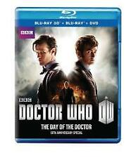 Doctor Who 50Th Anniversary Special The Day Of The Doctor Blu-Ray 3D