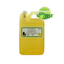 64 Oz/Half Gallon Pure Organic Avocado Carrier Oil Cold Pressed